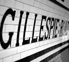 Arsenal - Gillespie Road station