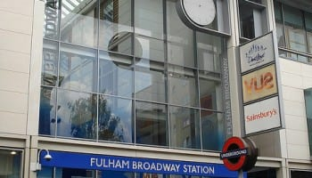 Chelsea tube station - Fulham Broadway